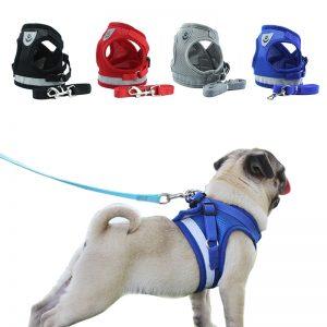 Pets Adjustable Reflective Harness