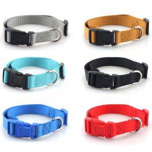 Simple Nylon Collar for Pets