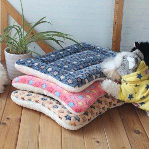 Fleece Pets Soft Blanket Bed