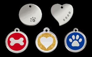 Pet Net ID Smart ID Tags - Pet Name ID Tags