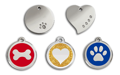 Pet Net ID Smart ID Tags - Pet Name ID Tags