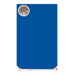 Blue Pet ID Tags