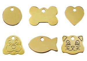 Brass Pet Tags