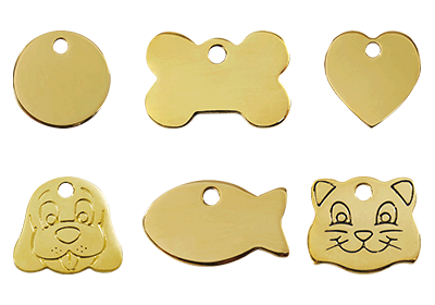 Brass Pet Tags