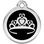 Pet ID Tags with Crown Design