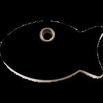 Fish Shaped ID Tags