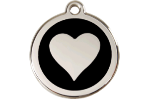 Heart Shaped Pet Tag for Dogs and Cats
