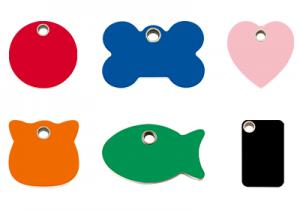 Plastic Pet Tags