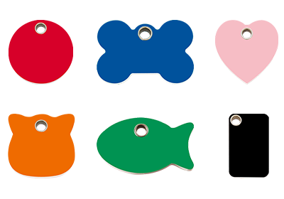 Plastic Pet Tags